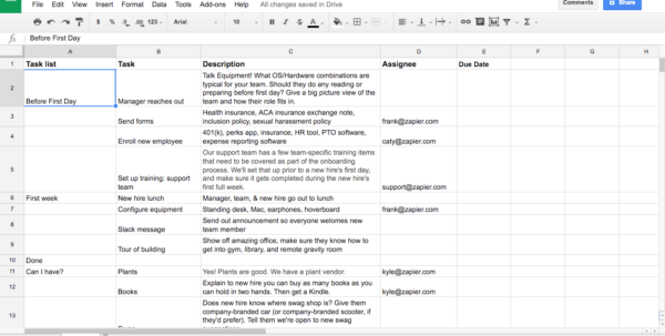 Spreadsheet Template Google For How To Create Effective Document Templates
