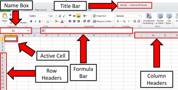 Spreadsheet Terms Intended For Understanding Microsoft Excel  Ppt Download