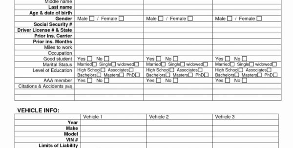 Spreadsheet To Compare Insurance Quotes In Spreadsheet To Compare Insurance Quotes On Budget  Pywrapper