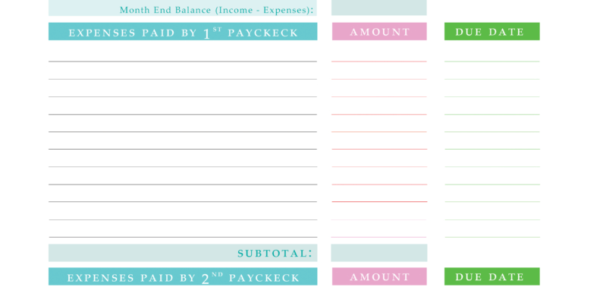 Spreadsheet To Keep Track Of Bills With Expenses Tracking Spreadsheet And Keeping Track Of Bills Spreadsheet
