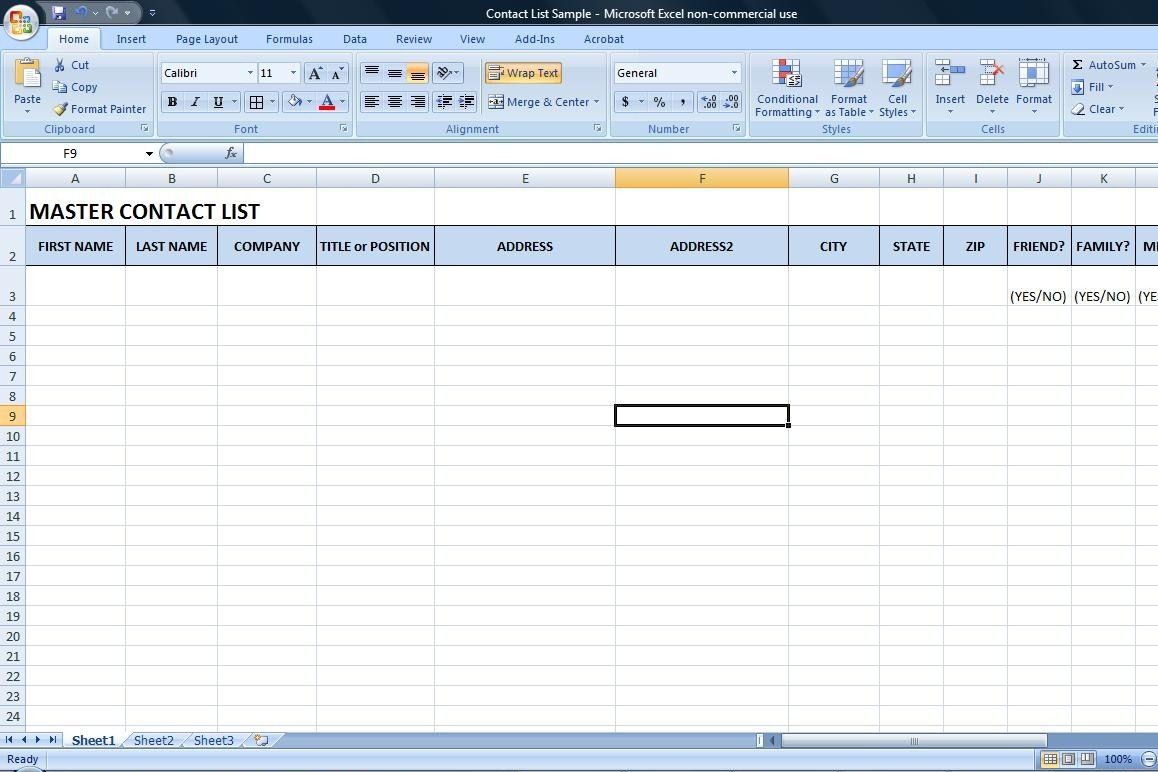 Spreadsheet To Keep Track Of Clients For Contact Database For Writers  Wordserve Water Cooler
