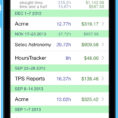 Spreadsheet To Keep Track Of Employee Hours Pertaining To Hourstracker ® Time Tracking App For Iphone And Android
