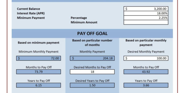 Spreadsheet To Pay Off Debt Regarding Spreadsheet For Paying Off Debt And Credit Card Payoff Calculator Spreadsheet To Pay Off Debt Spreadsheet Download