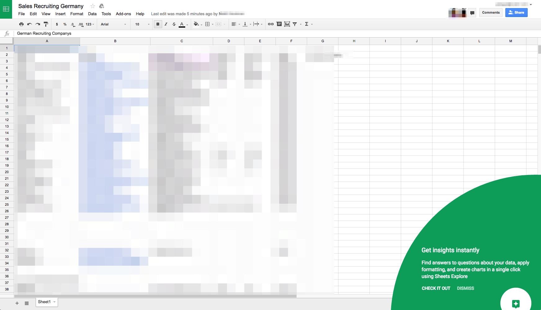 Spreadsheet Tutorial In Inspiration Tutorial On @spreadsheet  Ui Garage  Daily Ui