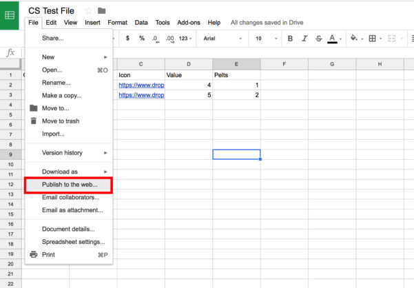 Spreadsheet Web Component Throughout Importing A Spreadsheet From Google Sheets  Component.studio