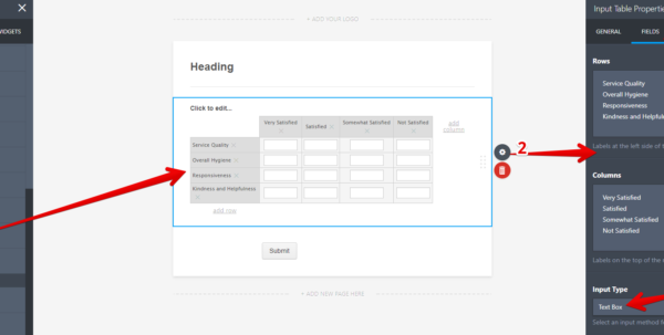 Spreadsheet Widget Intended For Change Spreadsheet Widget Column Labels  Jotform