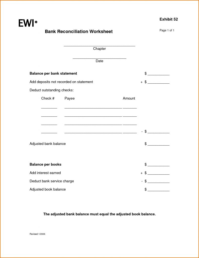 Spreadsheet Worksheets For Students In Checking Account Worksheets For Students 21 Best Of Reconciling A