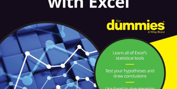 Spreadsheets For Dummies Book For Statistical Analysis With Excel For Dummies  Pdf Free Download