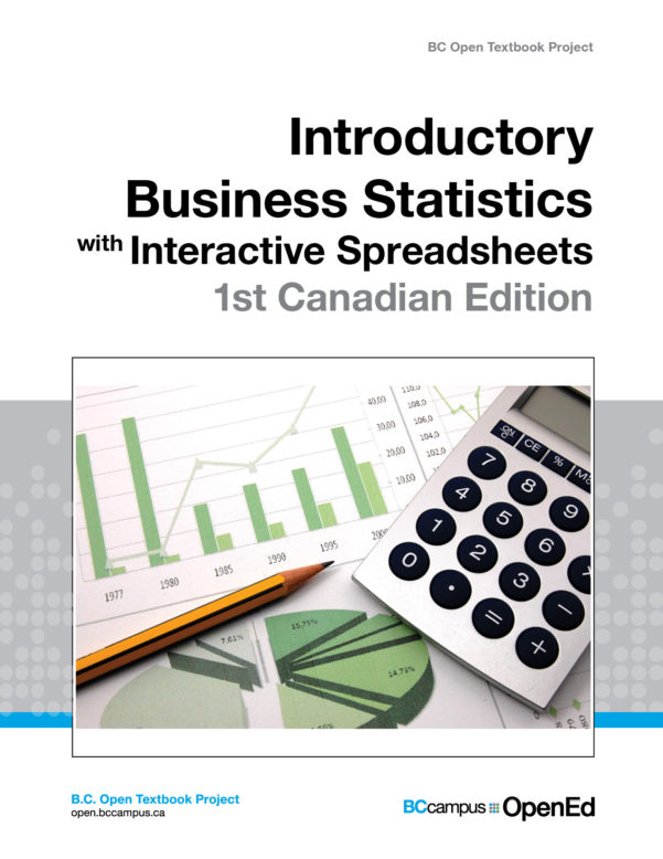 Spreadsheets For Dummies Book Pertaining To Introductory Business Statistics With Interactive Spreadsheets – 1St