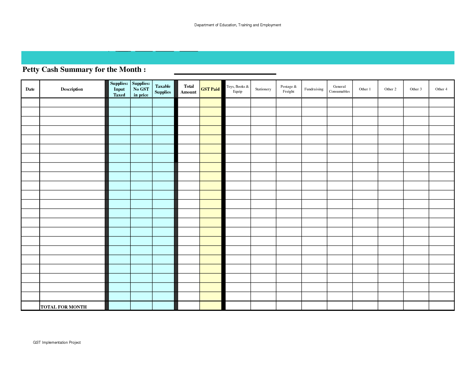 Spreadsheets For Dummies Free For Spreadsheets For Dummies Free And Petty Cash Spreadsheet Template