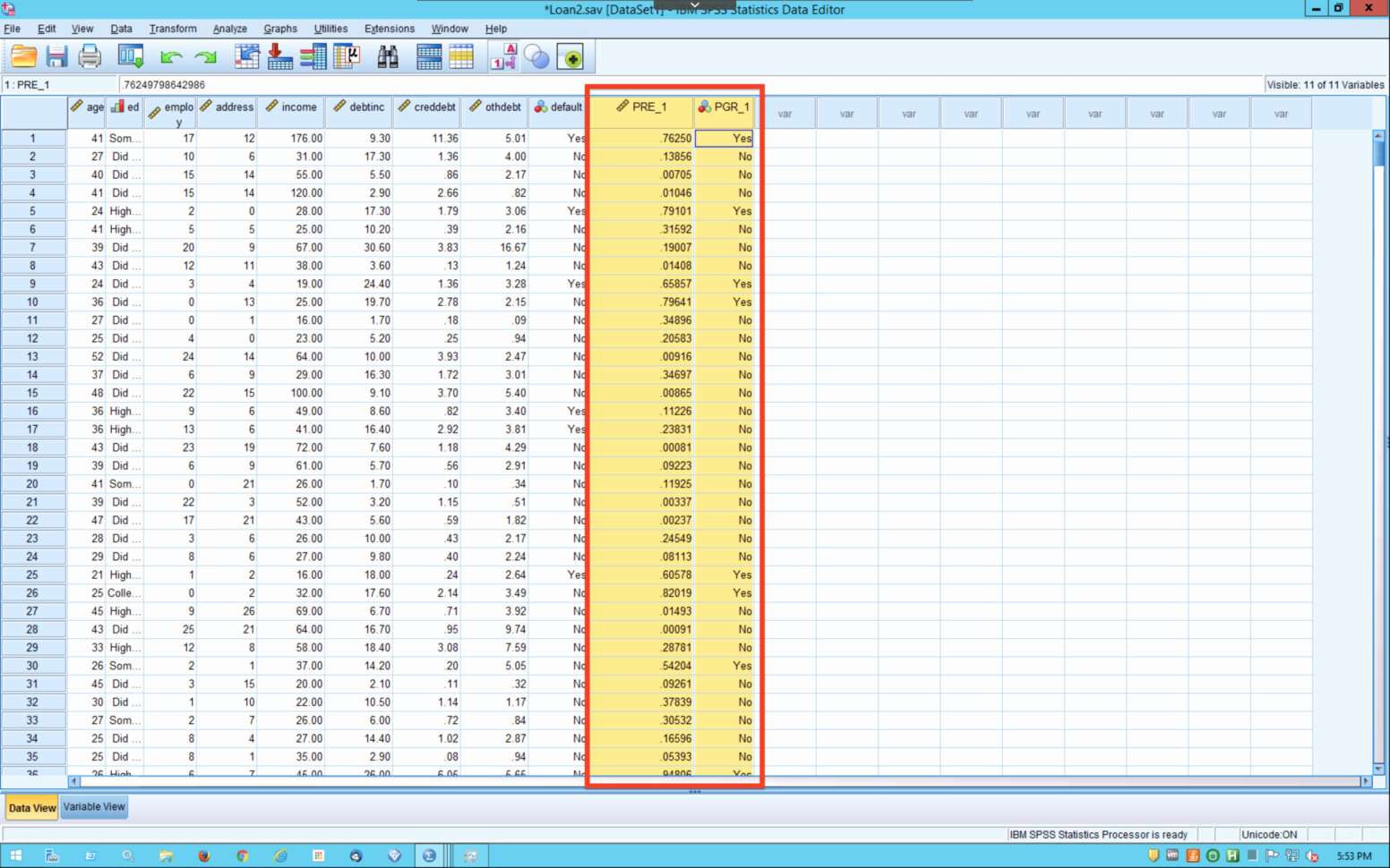 Spss Spreadsheet For In A Spreadsheet Program How Is Data Organized Beautiful Advanced