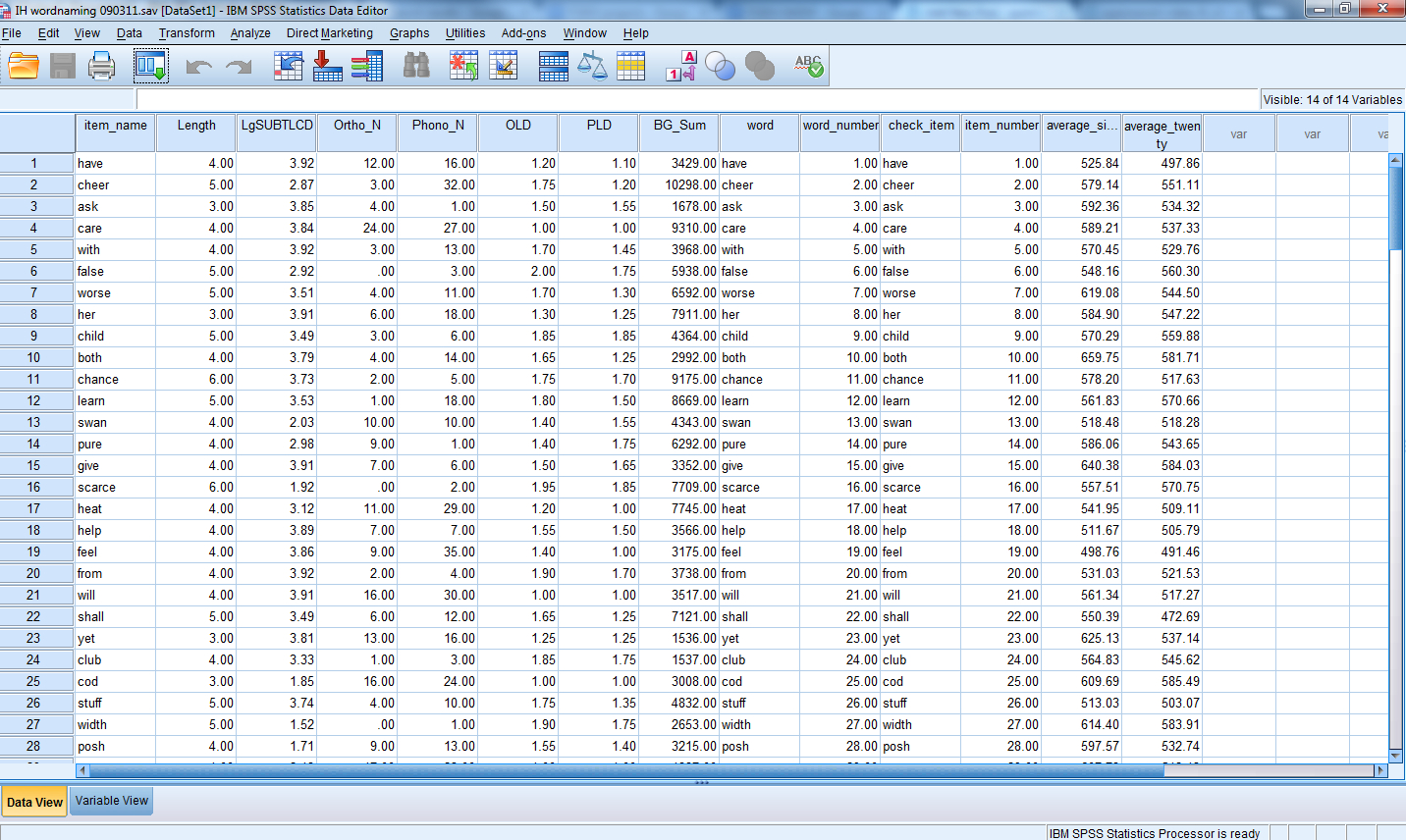Spss Spreadsheet Regarding Getting Started – Recapping Basics, Adding Foundational Knowledge