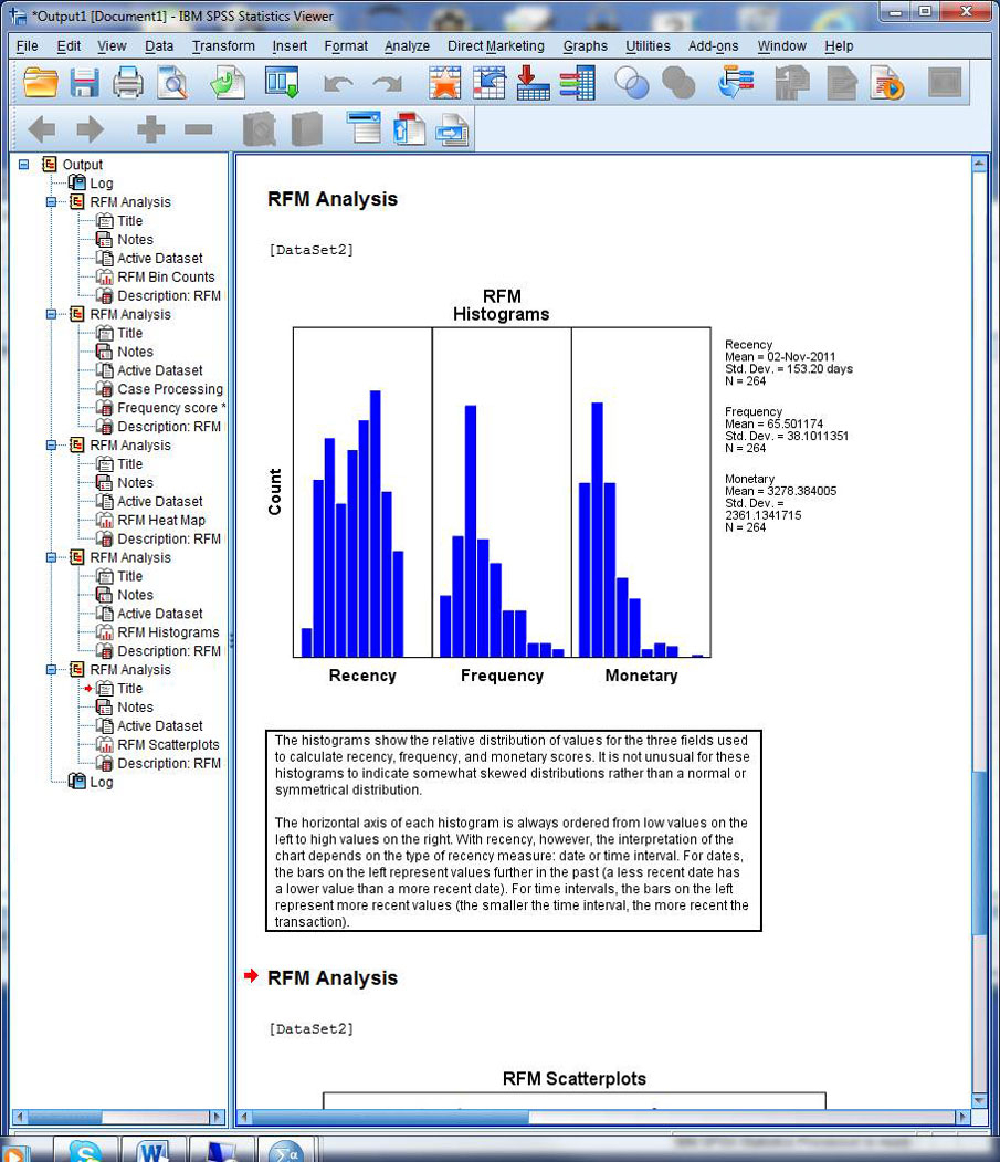 Spss Spreadsheet With Use Spss Statistics Direct Marketing Analysis To Gain Insight