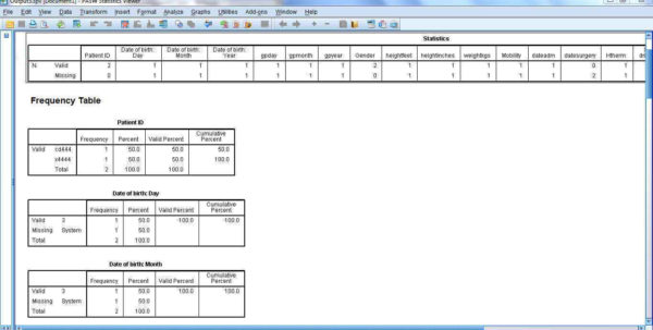 Spss Spreadsheet Within Running Spss Syntax File