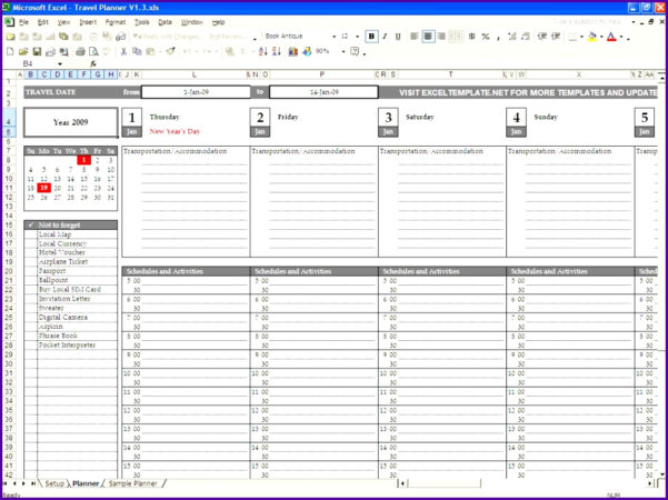 Staff Holiday Spreadsheet Pertaining To Vacation Plan Template Excel  Rent.interpretomics.co