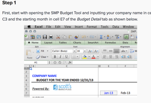 Startup Budget Spreadsheet In 7  Free Small Business Budget Templates  Fundbox Blog