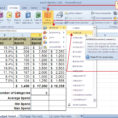 Statistics Excel Spreadsheet With Statistical Functions