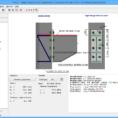 Steel Beam Design Spreadsheet Free Throughout Steel Connection  Structural Software Fin Ec  Fine