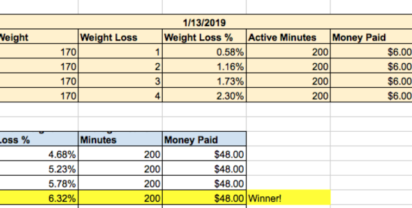 Step Challenge Spreadsheet Intended For The Ultimate Guide To Losing Weight In 2019: Via A Weight Loss Step Challenge Spreadsheet Google Spreadsheet