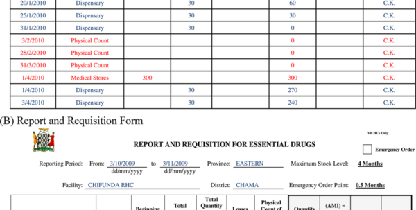 Stock Control Excel Spreadsheet Template With Regard To Main Paper Forms Supporting Inventory Control System In Zambia Stock