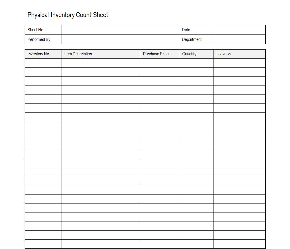 Stock Count Excel Spreadsheet Intended For Stock Count Sheet Maggi Locustdesign Co Inventory Control Template