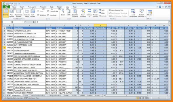 Stock Excel Spreadsheet Free Download Intended For 6  Inventory Spreadsheet Template For Excel  Credit Spreadsheet