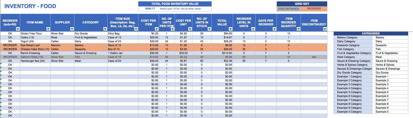 Stock Inventory Spreadsheet With Retail Stock Inventory Excel Spreadsheet And Retail Inventory