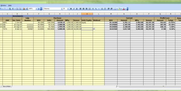 Stock Portfolio Tracking Spreadsheet Regarding Google Spreadsheet Portfolio Tracker For Stocks And Mutual Funds