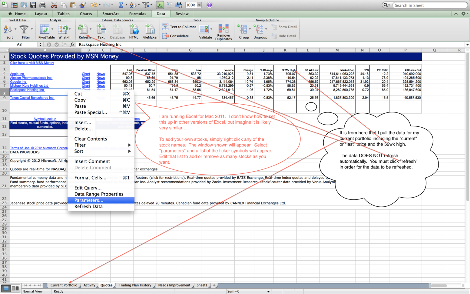 Stock Trading Excel Spreadsheet Throughout How To Create Your Own Trading Journal In Excel