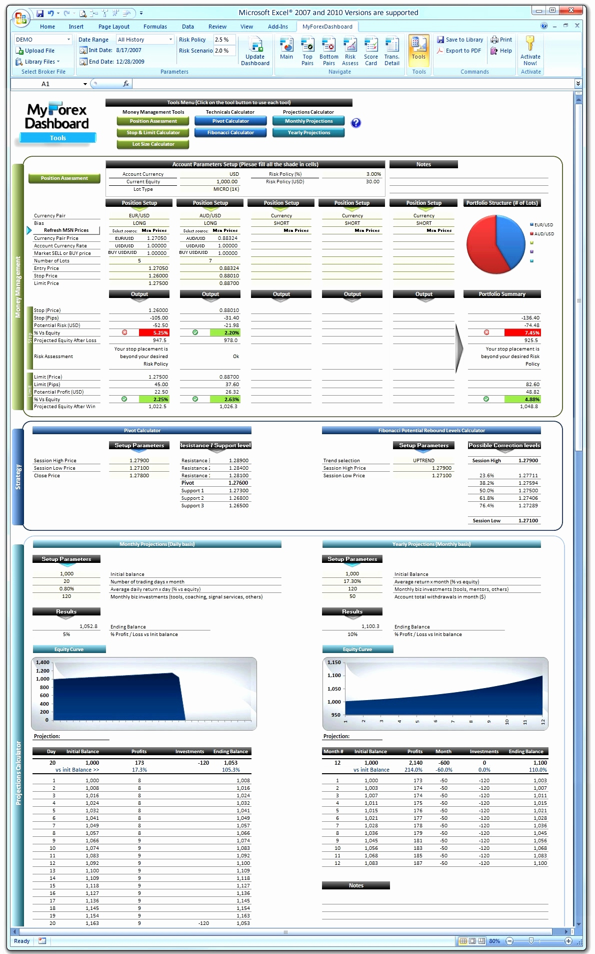 excel trading spreadsheet download