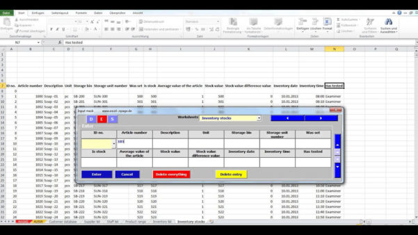 Stock Valuation Spreadsheet In Inventory Control Sheets Free Download Template With Count Sheet
