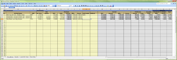 Stock Valuation Spreadsheet In Investment Spreadsheet Excel Property Club Real Estate Stock