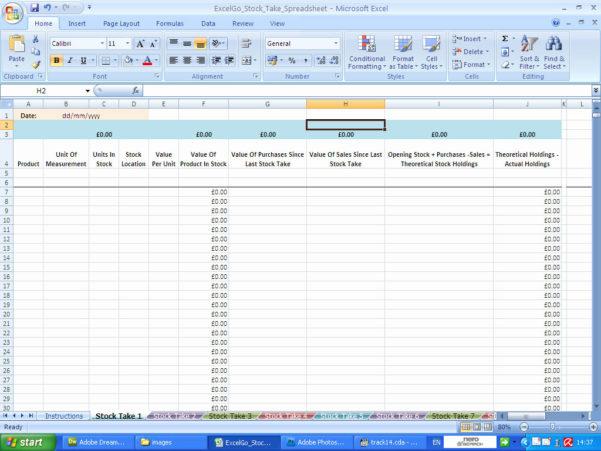 Stocktake Spreadsheet Inside Excel Data Entry Form Template Stocktake Spreadsheet Templates In