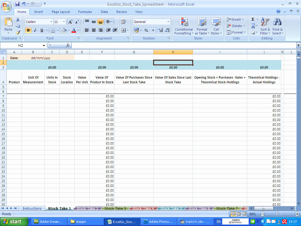 Stocktake Spreadsheet Inside Excel Data Entry Form Template Stocktake Spreadsheet Templates In