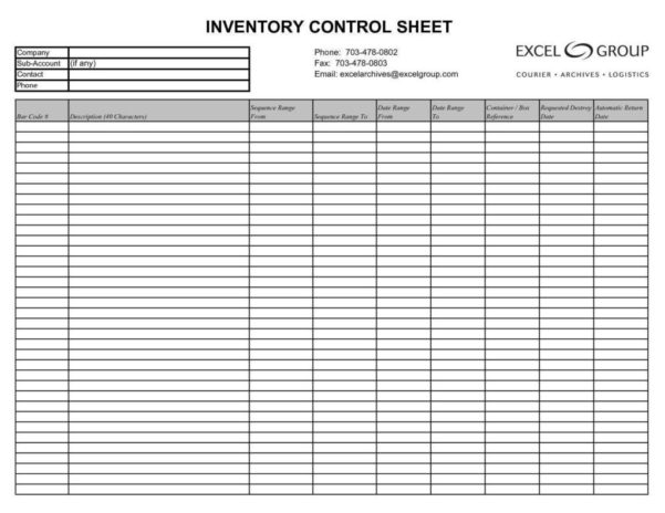 Store Inventory Spreadsheet With Sample Retail Inventory Spreadsheet Store Excel Free Template Sheet