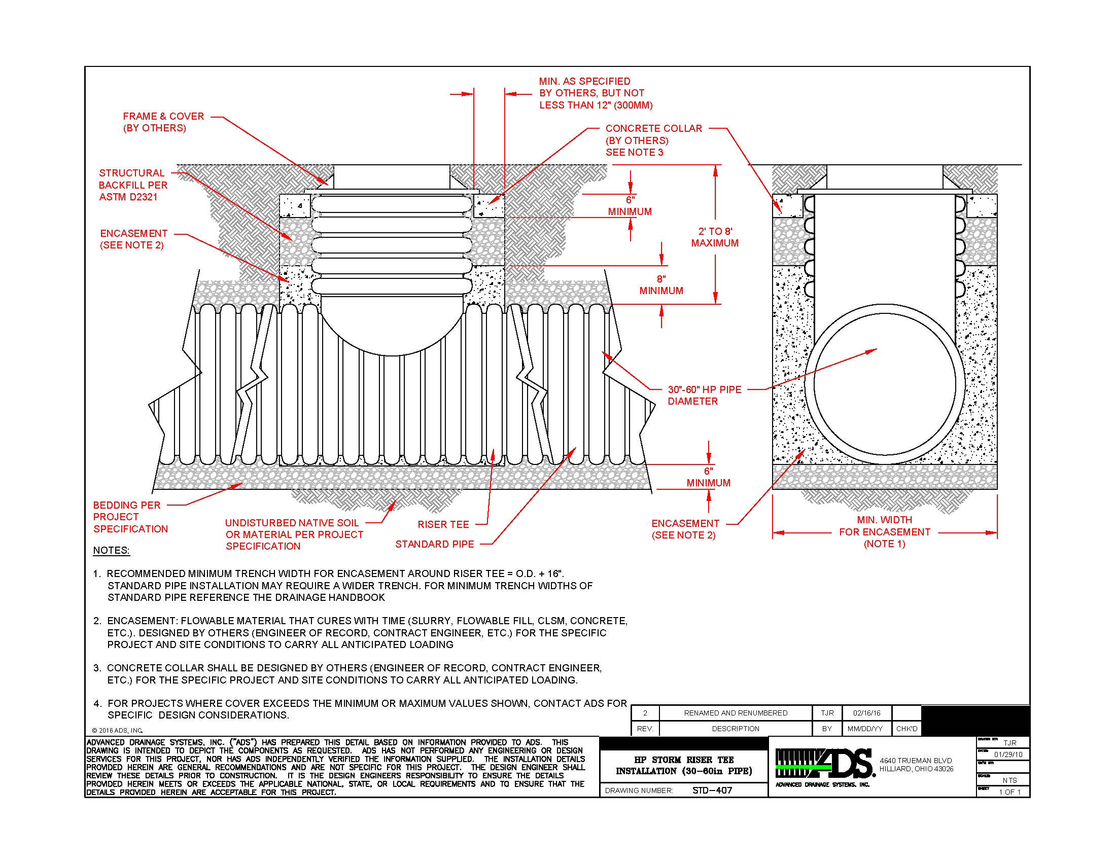 Storm Drain Pipe Sizing Spreadsheet Regarding Drainage Engineering Resources  Advanced Drainage Systems