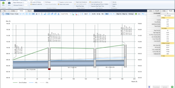 Storm Drain Pipe Sizing Spreadsheet With Regard To Storm Sewer Design Software  Stormwater Modeling  Stormwater Studio