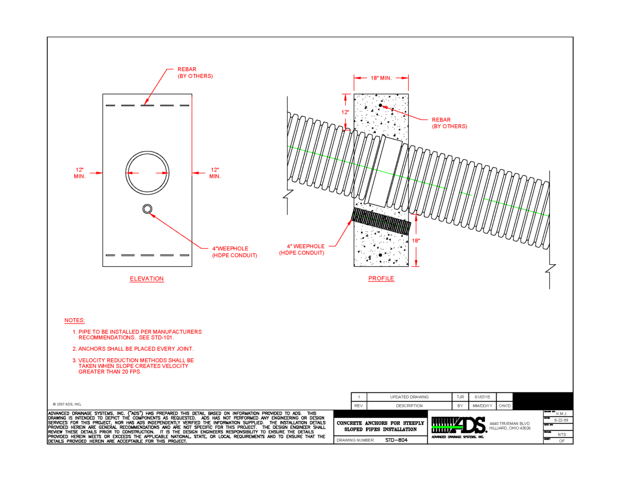 Stormwater Pipe Design Spreadsheet In Drainage Engineering Resources  Advanced Drainage Systems