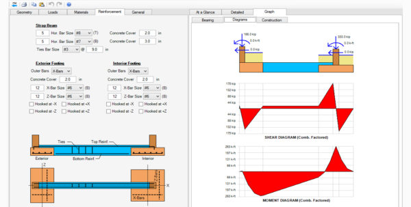 Strip Footing Design Spreadsheet Intended For Spread, Combined, Strap Footing Design Software  Asdip Foundation Strip Footing Design Spreadsheet Spreadsheet Download