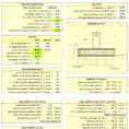 Strip Footing Design Spreadsheet Pertaining To Strip Foundation Design Spreadsheet  Civil Engineering Community