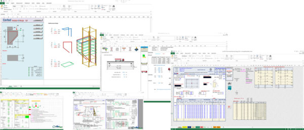 Structural Analysis Excel Spreadsheet Inside Premium Civil Engineering Spreadsheets Collection  Civil