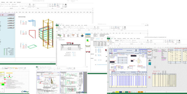 Structural Engineering Spreadsheets Throughout Premium Civil Engineering Spreadsheets Collection  Civil