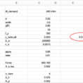 Structural Engineering Spreadsheets With Regard To The Do's And Don'ts Of Engineering Spreadsheets – Maxim Millen – Medium