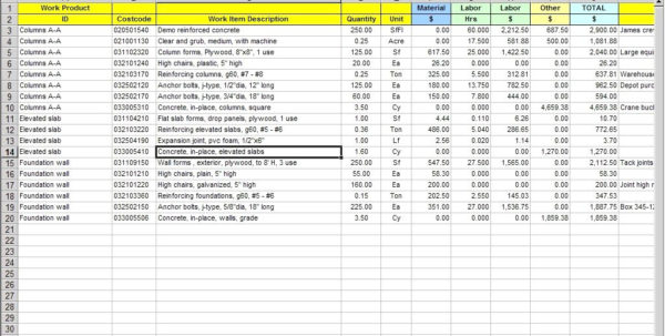 Structural Steel Estimating Excel Spreadsheet Regarding Software Cost Estimation Template Large Size Of Project Management