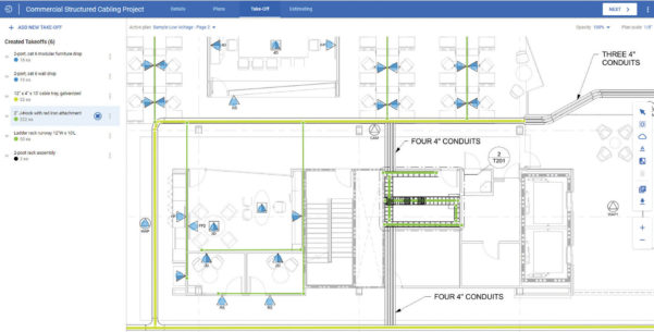 Structured Cabling Estimating Spreadsheet For Estimating Software  Electrical Contractor Magazine