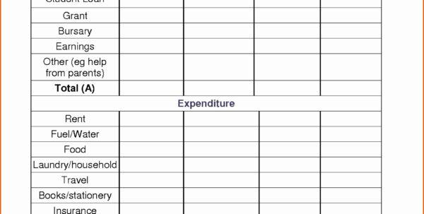 Student Budget Planner Spreadsheet With Budget Planning Spreadsheet Sheet Fresh Design Monthly Bud Planner