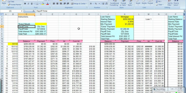 Student Loan Repayment Spreadsheet Intended For Student Loan Excel Spreadsheet  Samplebusinessresume