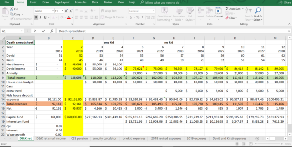 Superannuation Excel Spreadsheet Inside How To Start You Own Death Spreadsheet In Excel – Part 1 Superannuation Excel Spreadsheet Spreadsheet Download