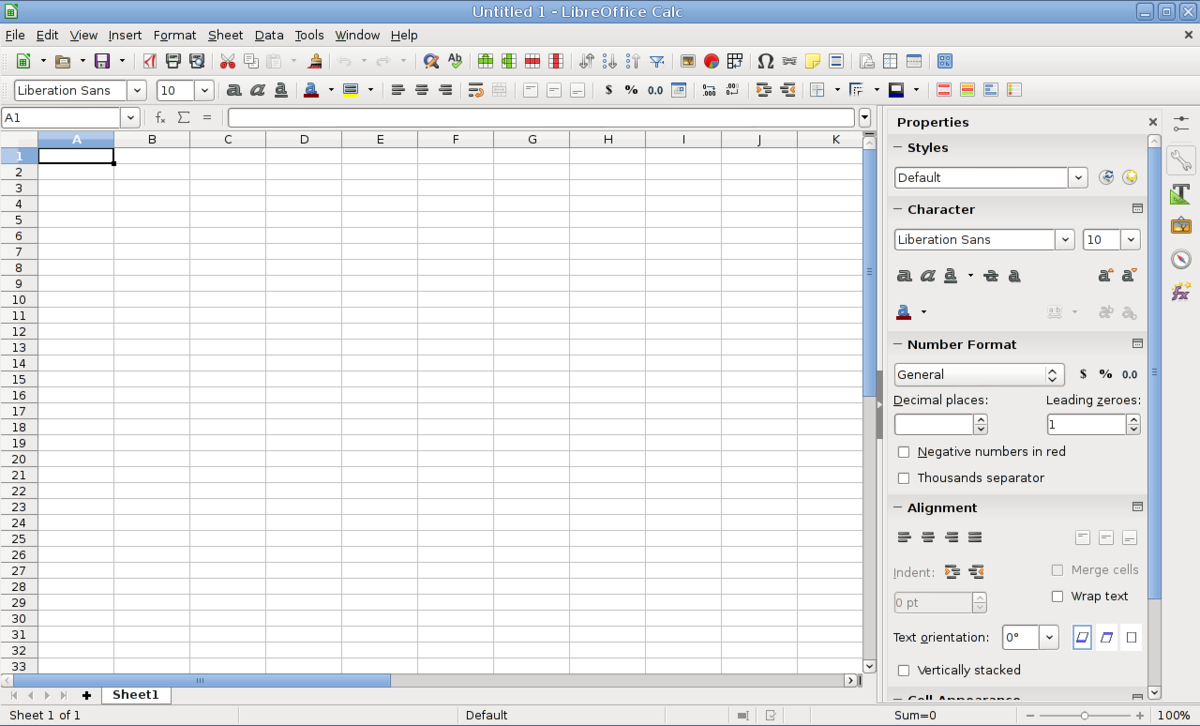 Supercalc Spreadsheet Pertaining To Libreoffice Calc  Wikipedia