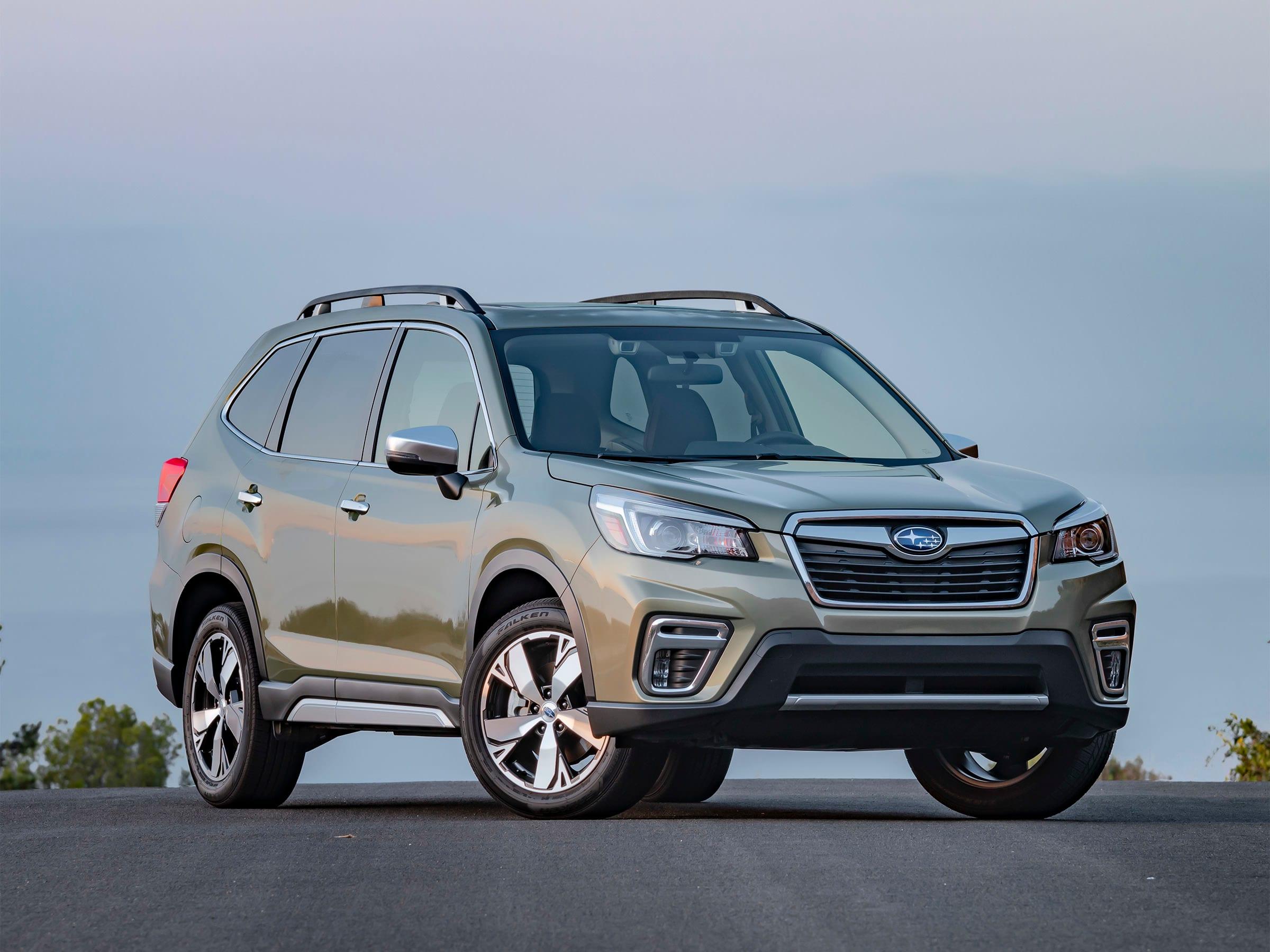 Suv Comparison Spreadsheet For Compact Suv Comparison: 2019 Subaru Forester  Kelley Blue Book